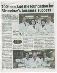 Riverview Eggs - Evening Echo Trading Stories